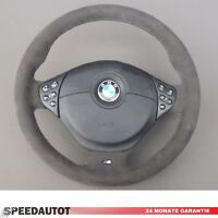 Alcantara Volante IN Pelle BMW M Power E46 Nuovo Volante Con Airbag