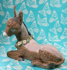 Lladro # 5683 ~ BEAUTIFUL BURRO ~ Donkey W/Flowers   ** MIB **