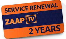 ZaapTV Renewal Code 409N, 509N, 509NII, X, CloodTV, 609N - 2 years maildelivery