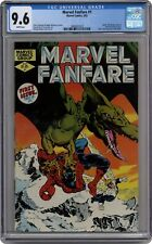 Marvel Fanfare #1 CGC 9.6 1982 3806037010