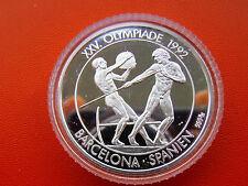 *Silbermedaille * Silber PP (ca.17 gr.)* Olympia 1992