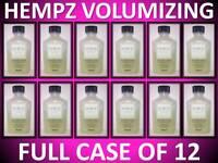 12 PACK HEMPZ ORIGINAL VOLUMIZING HEMP SEED HAIR SHAMPOO 2.5 OZ TRAVEL SIZE CASE