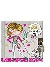 Rachel Ellen It's All About Me Secret Lockable Diary - Girls Christmas Gift Idea