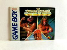 WF Superstars Game Boy MANUAL ONLY Authentic
