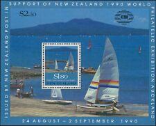 1990 NEW ZEALAND  150th Anniversary M/S - Scenes MNH