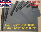 Parcel Postal Postage Mailing Packaging Bags Grey Plastic Poly Bag 100% Recycled