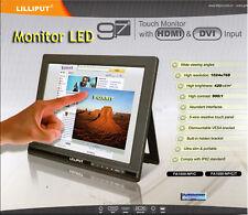 """9.7"""" MONITOR LED TOUCHSCREEN HDMI DVI LILLIPUT  FA1000 SPEDIZIONE DALL'ITALIA"""