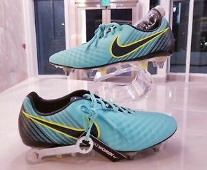 WMNS Nike Magista Opus II 2 SG-Pro Soccer Cleats Light Aqua Volt SZ (844220-401)