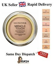 Max Factor Miracle Touch Foundation, SPF 30 and Acid, Sealed - Choose Your Shade