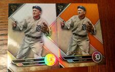 2017 TRIPLE THREADS DETROIT TIGERS TY COBB BASE CARD & PARALLEL CARD #56/150