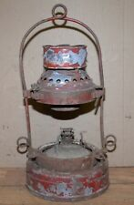 Antique Dressel Mohawk Oil lamp New York State Erie Canal nautical lantern