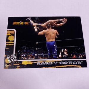2002 Fleer #14 Royal Rumble RANDY ORTON Rookie