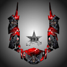 Polaris RZR 4 1000 XP Wrap Graphics Decal W OEM Door Inserts Guardian Red