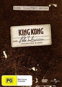 King Kong - Peter Jackson inc Production Notes DVD*2-Disc*R4*Terrific Condition