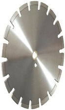 "18"" Laser Welded Asphalt Green Concrete Pro.Diamond Saw Blade w/Drop Teeths-Best"