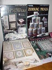 The Herb Garden/The Botanical Garden/State Flowers/Zodiac Mugs -Cross Stitch