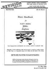 MARTIN JRM-1 MARS / PILOT'S HANDBOOK / AN 01-35CA-1