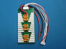 PARALLEL CHARGE BOARD 6 LIPO BATTERY PACKS 2S-6S XT60 DJI IMAX ACCUCELL TURNIGY