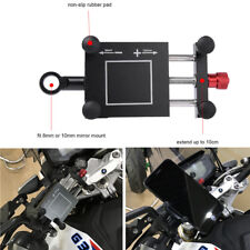 Motorcycle Handlebar Phone Holder Motorbike Handle Mount Clip GPS Navigation