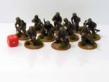 28mm Bolt Action Chain Of Command German Panzergrenadiers Painted 10 Figures R1