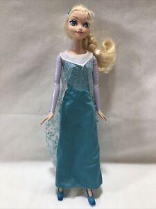 2012 Mattel Walt Disney Barbie Doll Frozen Ice Queen Elsa Doll