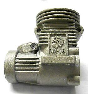 R012 .18 VX Crank Housing Grey HSP Engine Parts Hi Speed