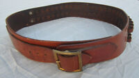 Vintage Eubanks-Poineer Leather Cartridge Ammunition Belt .30-06 cal - 25 round