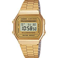 CASIO A168WG-9 * Unisex Armbanduhr * NEU * Kostenloser Versand