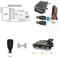 New Remote Control Keyless Entry System Central Door Locking Kit Auto Car Van