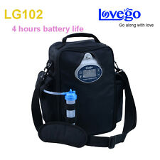 Newest LOVEGO102 Two Batteries Portable oxygen concentrator 4 Hours battery time