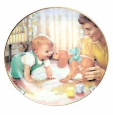 Kathy Lawrence Young Innocence Collector Plate Friendly Inspection Danbury Mint