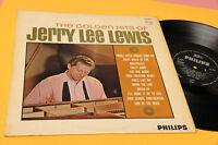 JERRY LEE LEWIS LP GOLDEN HITS ORIG UK '60 EX LAMINATED COVER TOP COLECTORS
