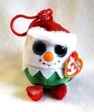 Ty Baby Beanies Eggnog Christmas Key or Backpack Clip 4""