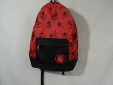 "Disney Mickey Mouse Thru the Years Backpack 17.5"" Padded back"