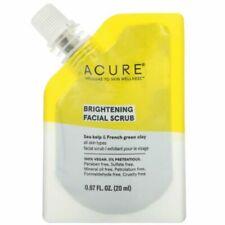 Acure, Brightening Facial Scrub, 0.67 fl oz (20 ml)