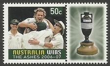 AUSTRALIA VICTORY 2007 ASHES URN SHANE WARNE 1v + TAB