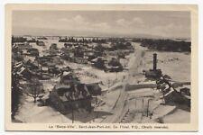 La Basse Ville SAINT-JEAN-PORT-JOLI Quebec 1930-40s Carte Postale PECO Postcard