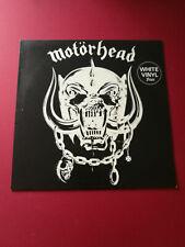 MOTORHEAD ORIGINAL Debut CHISWICK WHITE NM vinyl 1978  + cover errors