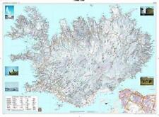 Island Landkarte Poster Querformat 134,5x98,5cm #170002