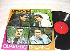 "Quartetto Italiano ""Beethoven: String Quartets Op 18, Nos 5&6"" 1973 LP, Nice NM!"