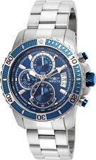 Invicta Men's Pro Diver Quartz Multifunction Blue Dial Watch 22413
