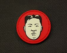 Kim Jong Un Dear Leader GITD Morale Patch Glow In The Dark Little Rocket Man