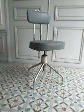 Rare chaise de bureau architecte tubulure Chrome Bauhaus Marcel Breuer vers 1940