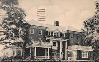 Alpha Delta Phi, Wesleyan University, Middletown, CT., Early Postcard, Used