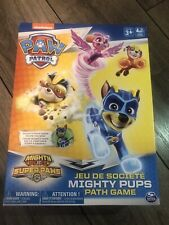 Brand New Nickelodeon PAW PATROL MIGHTY PUPS PAW PATH GAME. Play Together