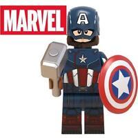 Captain America Endgame Marvel Minifigure Figure Custom Lego Minifig 46