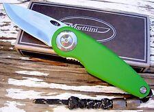 Marttiini knife Finland Green Pelican liner lock folder stainless steel 925140