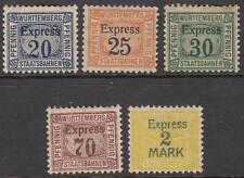 Wurttemberg Staatsbahnen Railway Revenues Erler 32//41 5 mint Express 1917//20