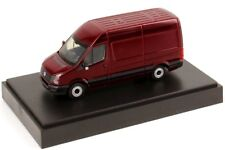 RARE VW CRAFTER TDI 2E VAN 2011 FACELIFT SPANISH RED 1:87 RIETZE (DEALER MODEL)