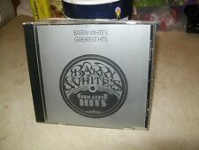 "MUSIC CD ""BARRY WHITE'S GREATEST HIT'S""  LOOK A MUST HAVE"